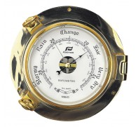 "PLASTIMO CLOCK & BAROMETER 6"" MODEL"