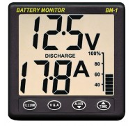 NASA MARINE BATTERY MONITORS 12V OR 24V