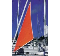 PLASTIMO FLOURESCENT STORM SAIL 3 SIZES ORANGE