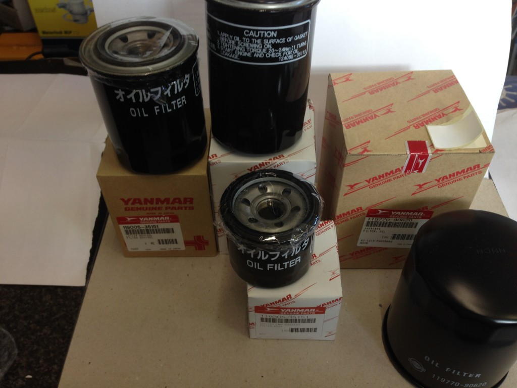Yanmar Marine Oil Filters | Mount Batten Boathouse