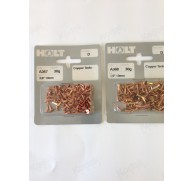 "PRE-PACK COPPER TACKS 3/8"" 10mm OR 1/2"" 12mm"