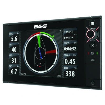 B&G ZEUS²9 Multi-function display, With Insight charts