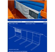 BLUE PERFORMANCE LEE CLOTH, BUNK NET