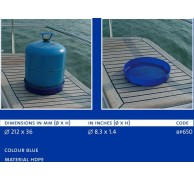 BLUE PERFORMANCE CAMPING GAZ RUST PROTECTOR TRAY