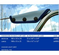 BLUE PERFORMANCE SEA RAIL, GUARD WIRE PROTECTOR 2 SIZES